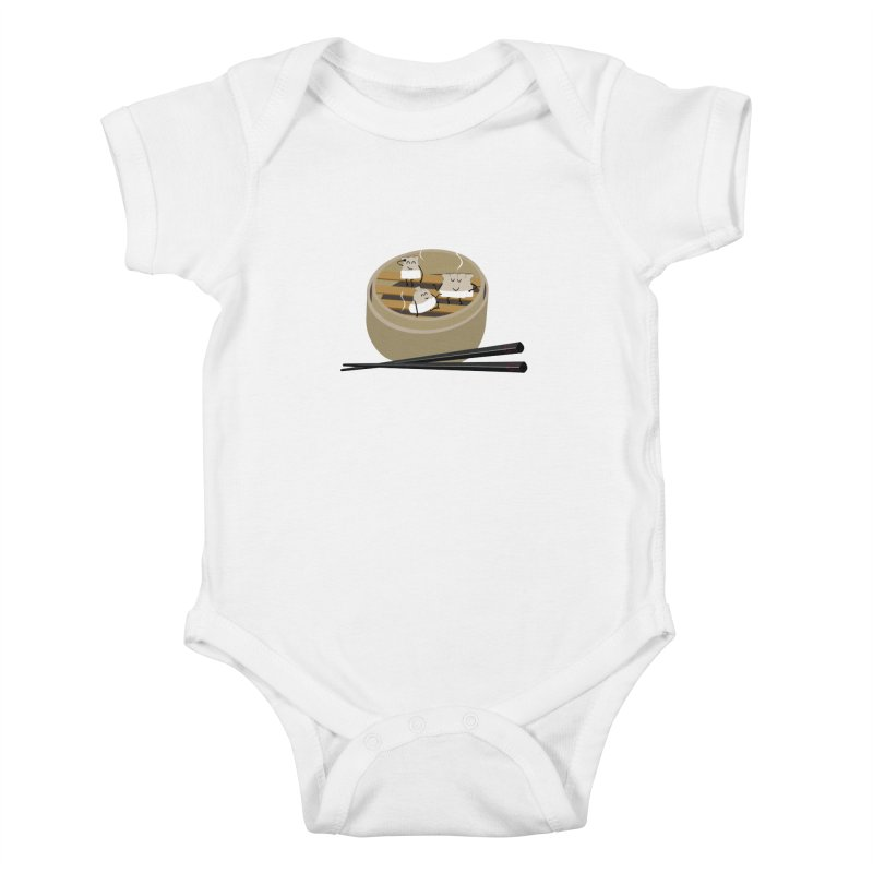 Steam room Kids Baby Bodysuit by IreneL's Artist Shop