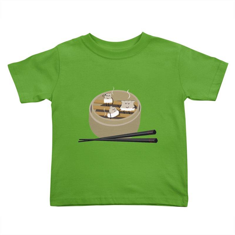 Steam room Kids Toddler T-Shirt by IreneL's Artist Shop