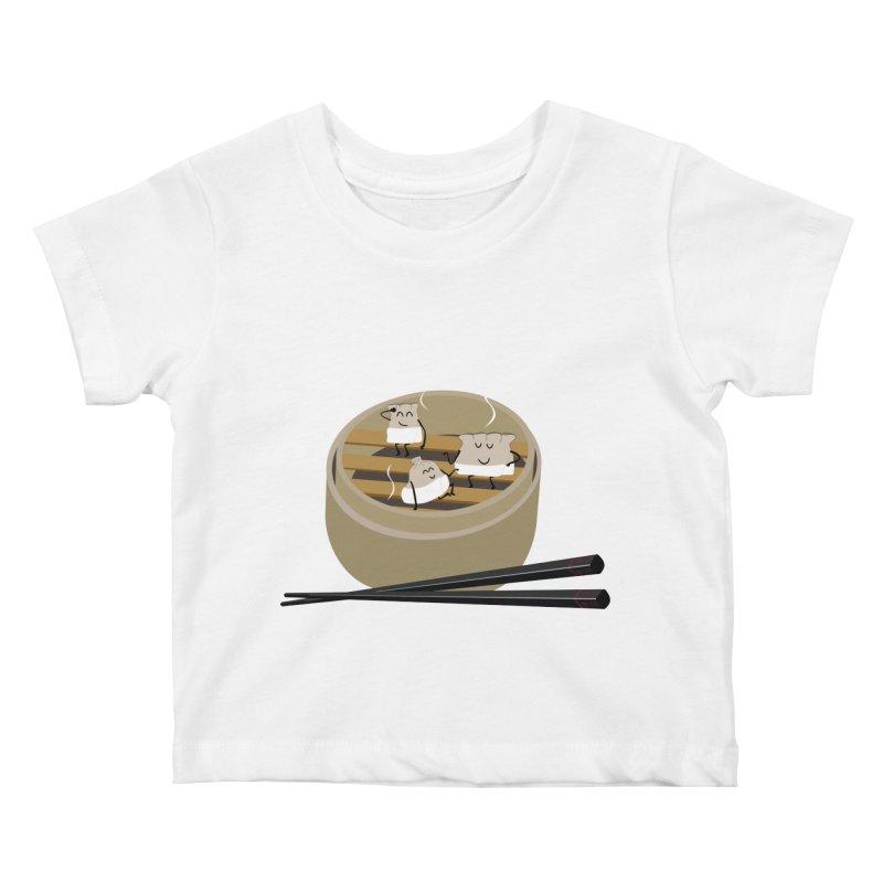 Steam room Kids Baby T-Shirt by IreneL's Artist Shop