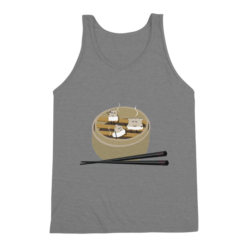 Steam room Men's Triblend Tank by IreneL's Artist Shop