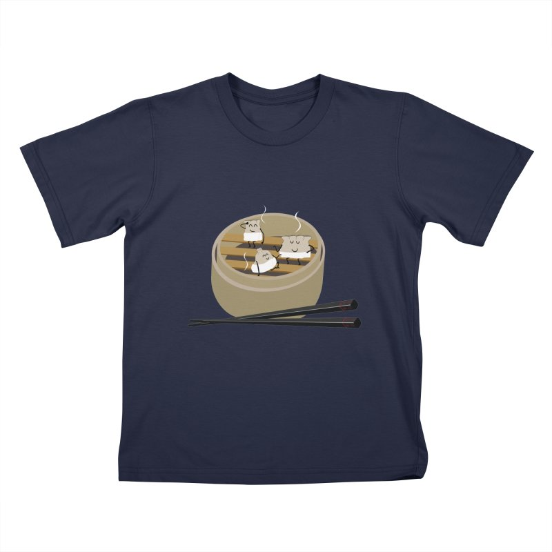 Steam room Kids T-Shirt by IreneL's Artist Shop