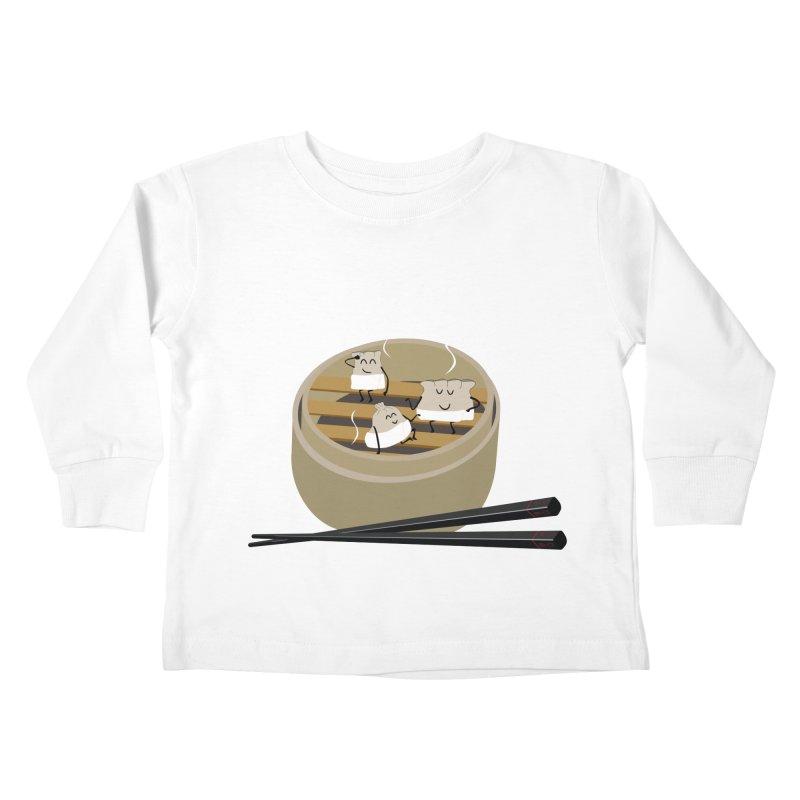 Steam room Kids Toddler Longsleeve T-Shirt by IreneL's Artist Shop