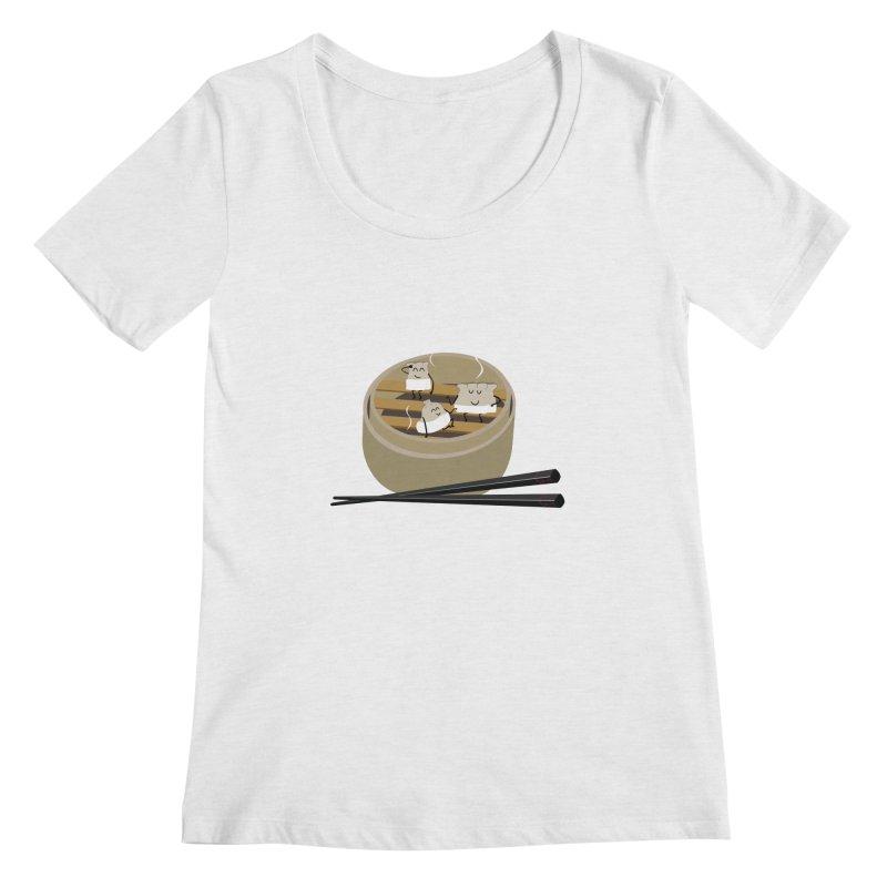 Steam room Women's Regular Scoop Neck by IreneL's Artist Shop