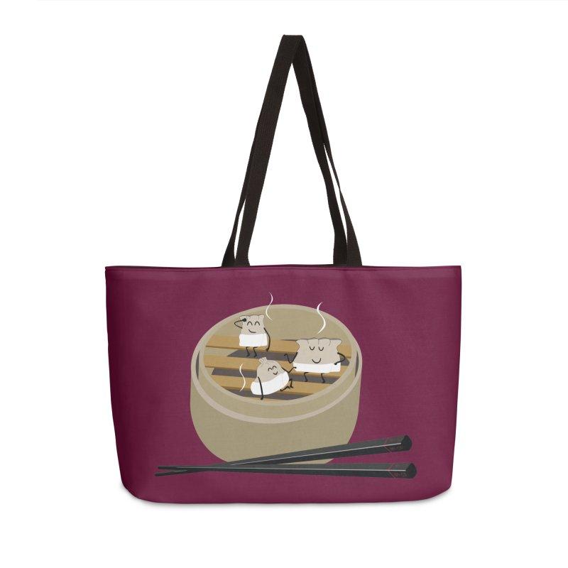 Steam room Accessories Weekender Bag Bag by IreneL's Artist Shop