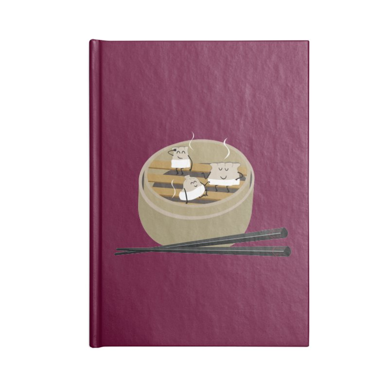 Steam room Accessories Lined Journal Notebook by IreneL's Artist Shop
