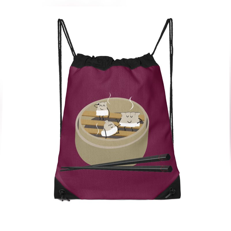 Steam room Accessories Drawstring Bag Bag by IreneL's Artist Shop