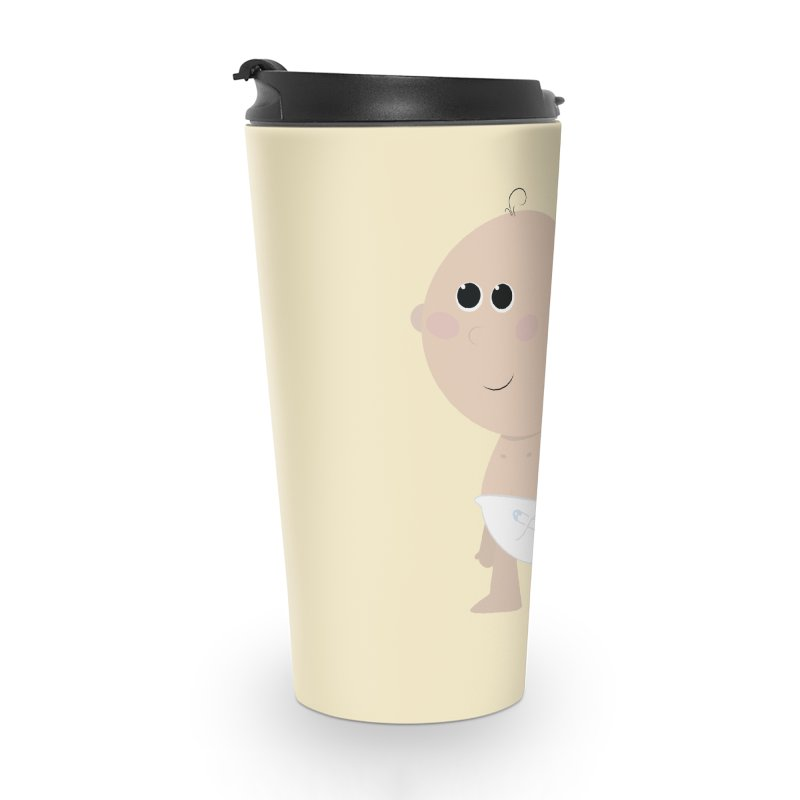 Just Landed Accessories Travel Mug by IreneL's Artist Shop