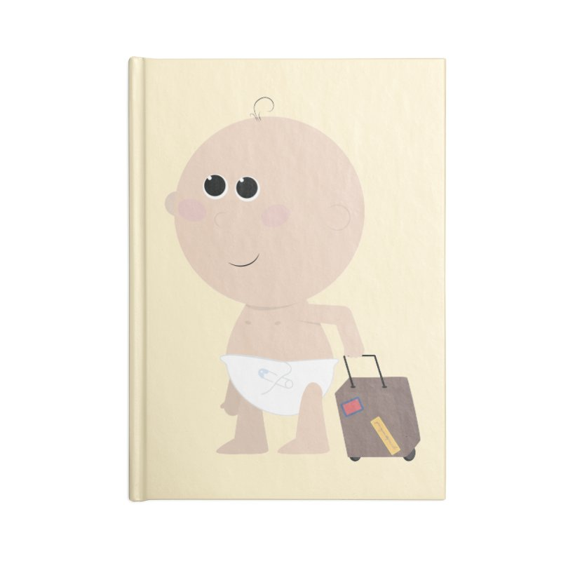Just Landed Accessories Blank Journal Notebook by IreneL's Artist Shop