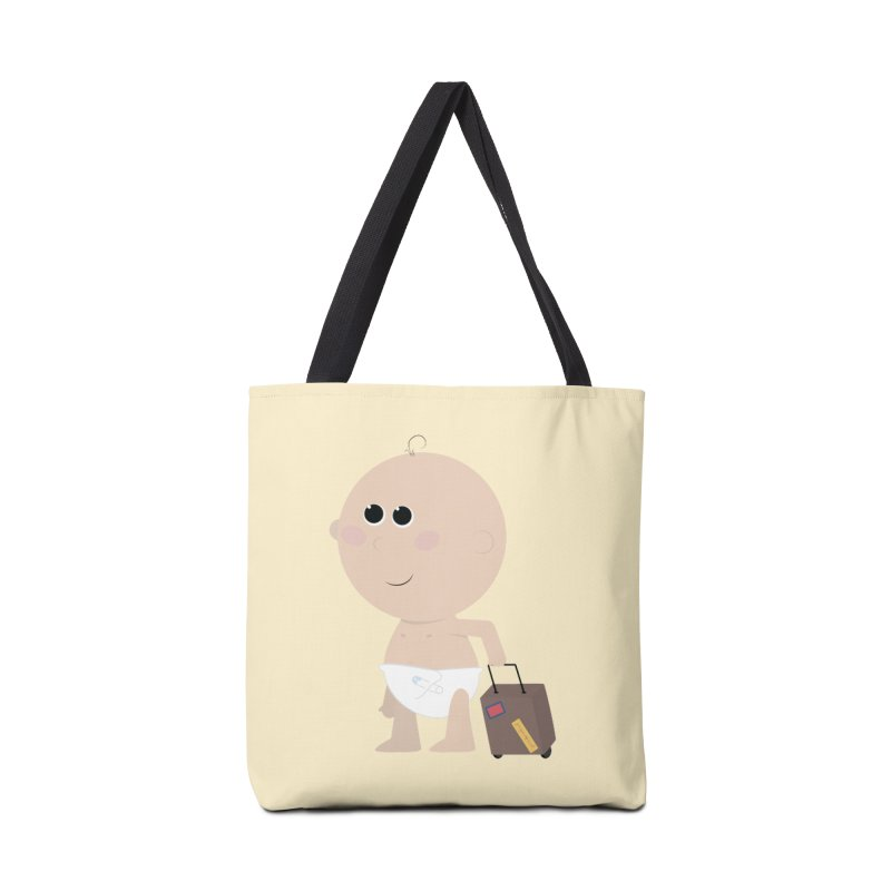 Just Landed Accessories Tote Bag Bag by IreneL's Artist Shop