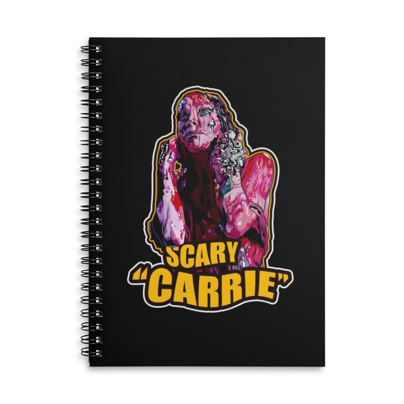 Scary Carrie Accessories Notebook by pentoolarts's Artist Shop