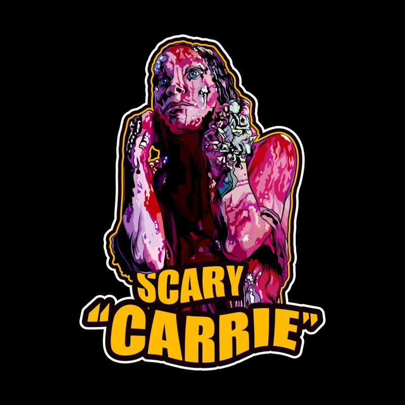 Scary Carrie Men's T-Shirt by pentoolarts's Artist Shop