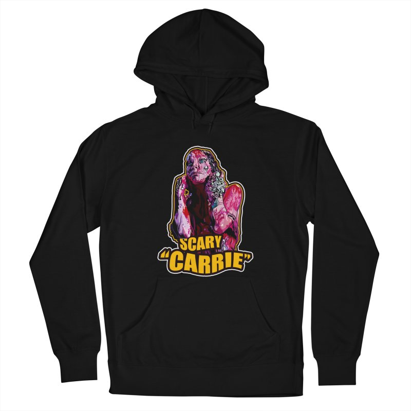 Scary Carrie Men's Pullover Hoody by pentoolarts's Artist Shop