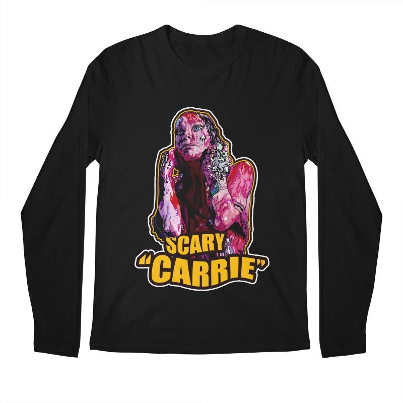 Scary Carrie Men's Longsleeve T-Shirt by pentoolarts's Artist Shop