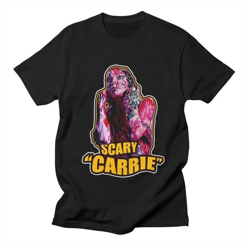 Scary Carrie Women's T-Shirt by pentoolarts's Artist Shop