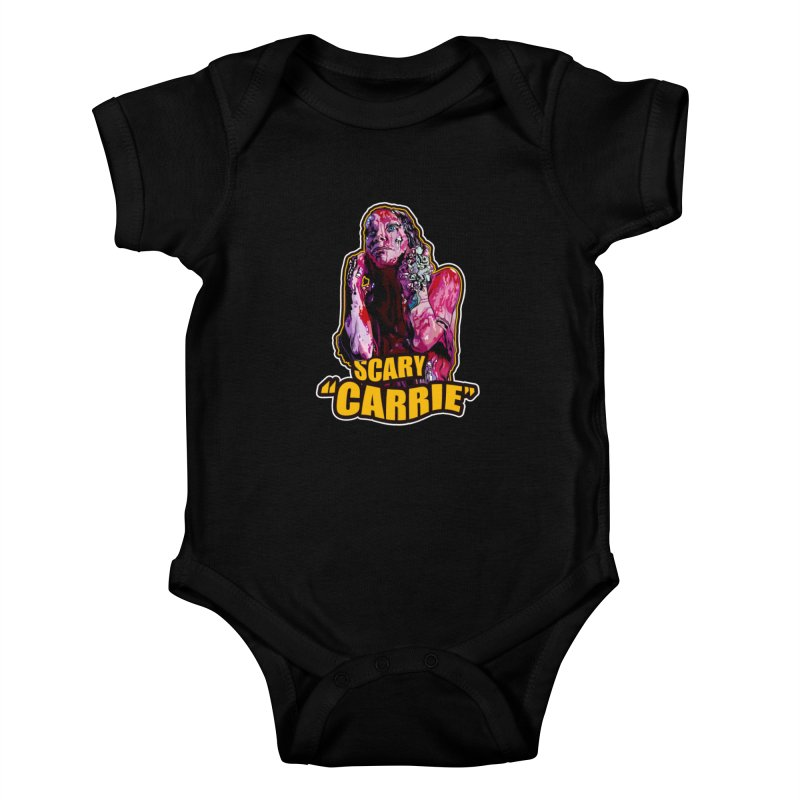 Scary Carrie Kids Baby Bodysuit by pentoolarts's Artist Shop