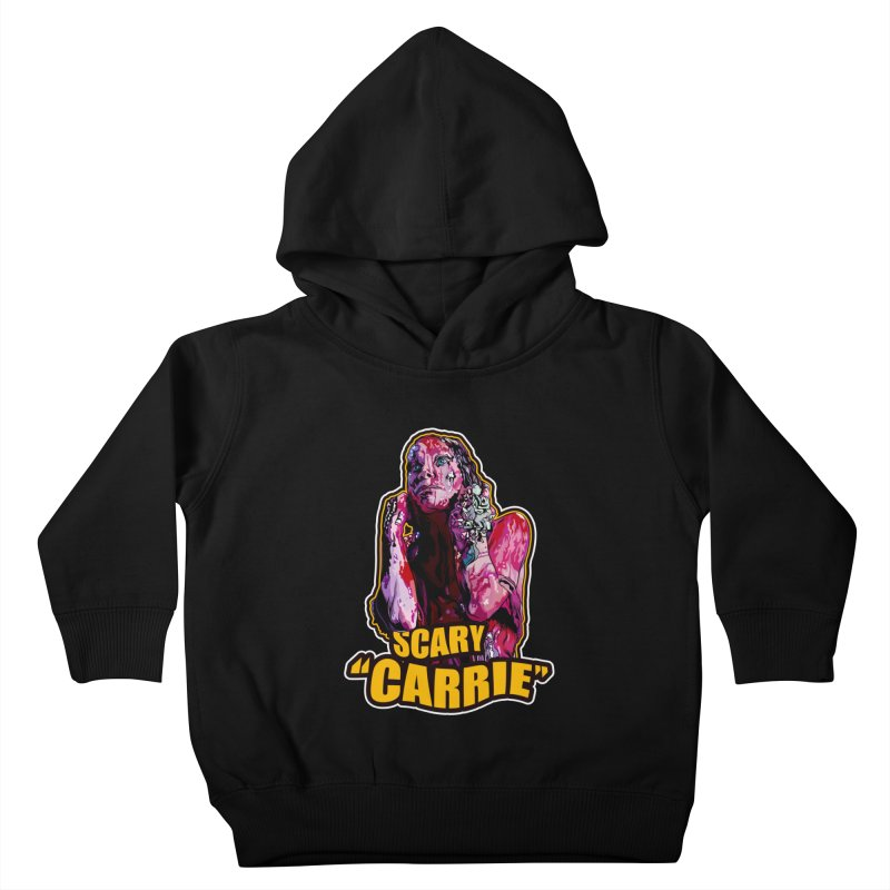 Scary Carrie Kids Toddler Pullover Hoody by pentoolarts's Artist Shop