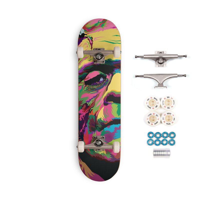 The Monster (Full Colors Version) Accessories Complete - Premium Skateboard by pentoolarts's Artist Shop