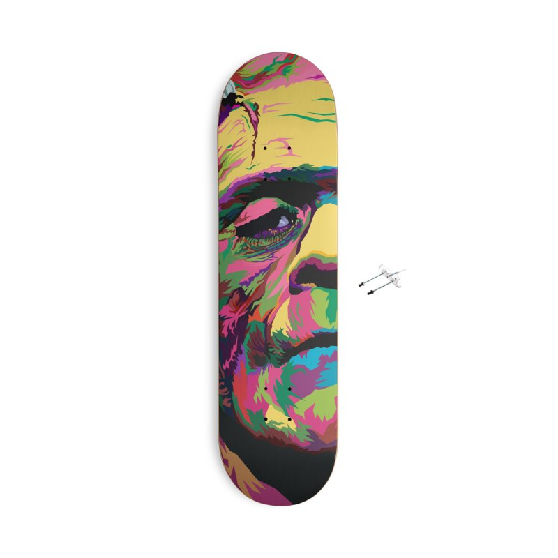 The Monster (Full Colors Version) Accessories Skateboard by pentoolarts's Artist Shop