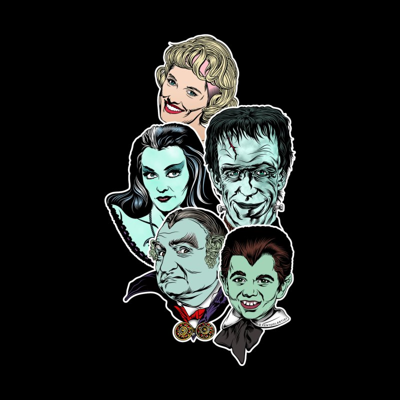 The Munsters RULE! Women's Tank by pentoolarts's Artist Shop