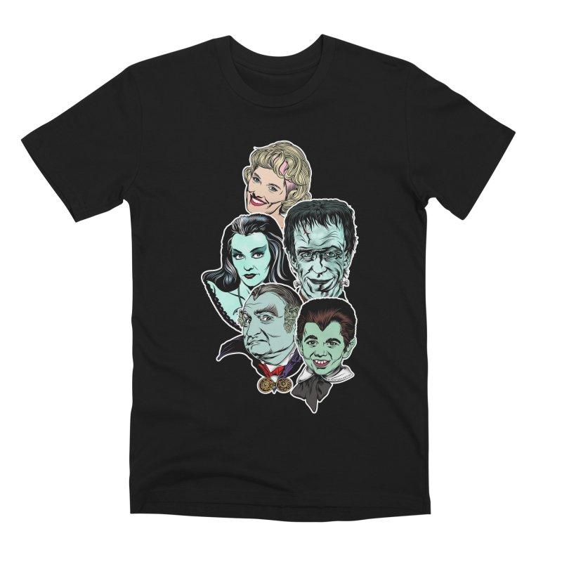 The Munsters RULE! Men's Premium T-Shirt by pentoolarts's Artist Shop