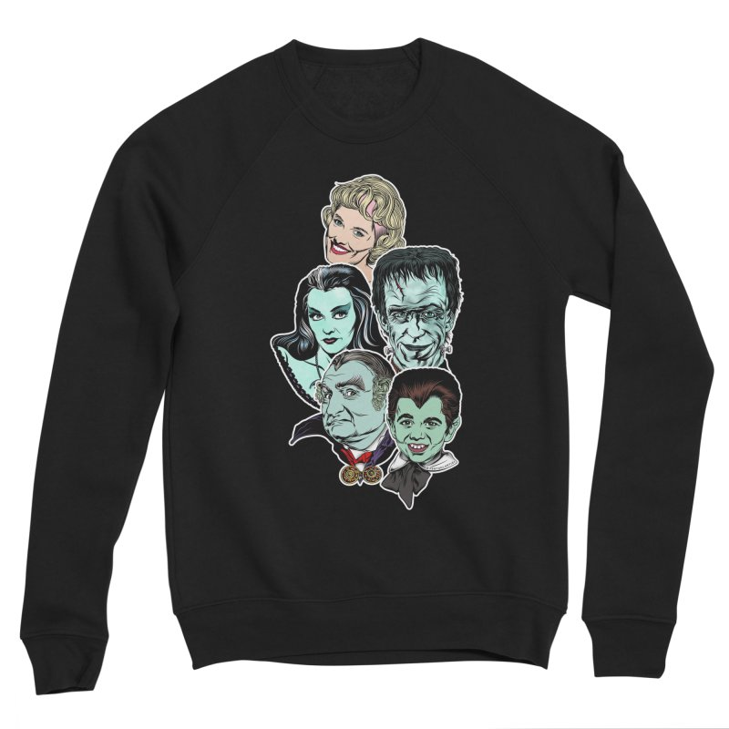 The Munsters RULE! Men's Sponge Fleece Sweatshirt by pentoolarts's Artist Shop