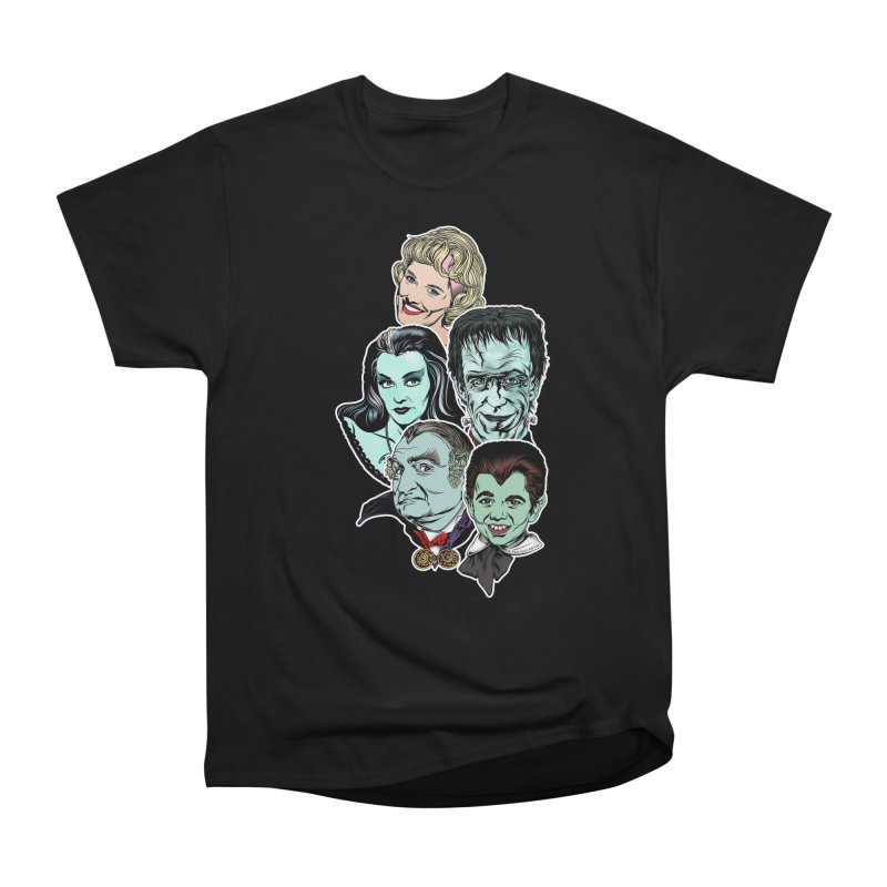 The Munsters RULE! Men's Heavyweight T-Shirt by pentoolarts's Artist Shop