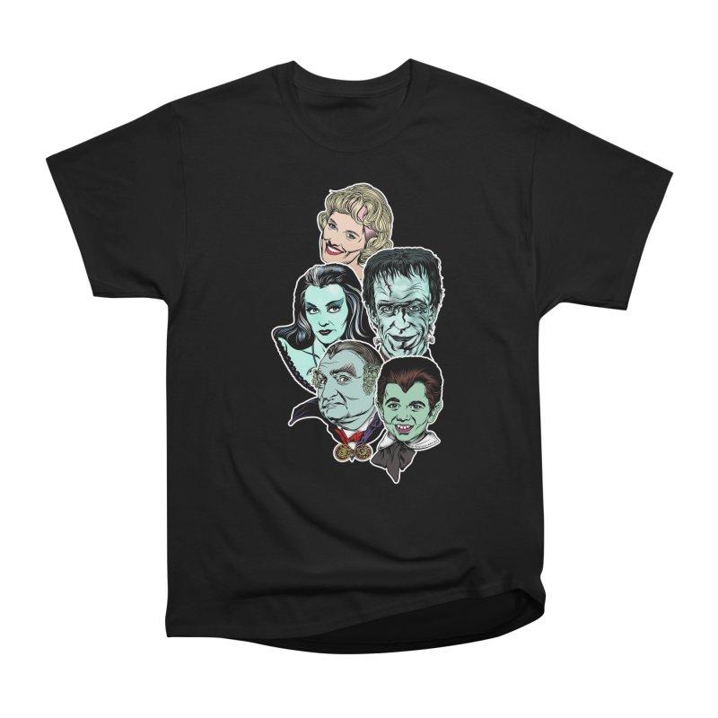 The Munsters RULE! Women's Heavyweight Unisex T-Shirt by pentoolarts's Artist Shop