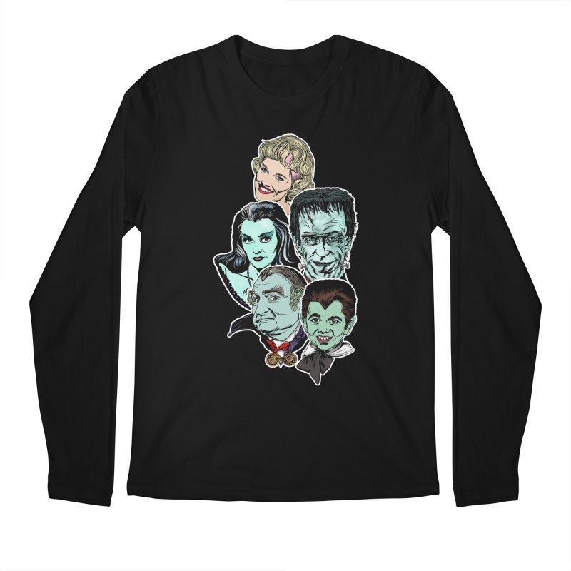 The Munsters RULE! Men's Regular Longsleeve T-Shirt by pentoolarts's Artist Shop