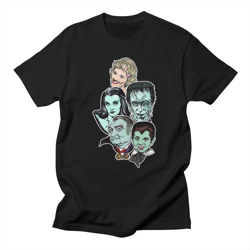 The Munsters RULE! Men's T-Shirt by pentoolarts's Artist Shop