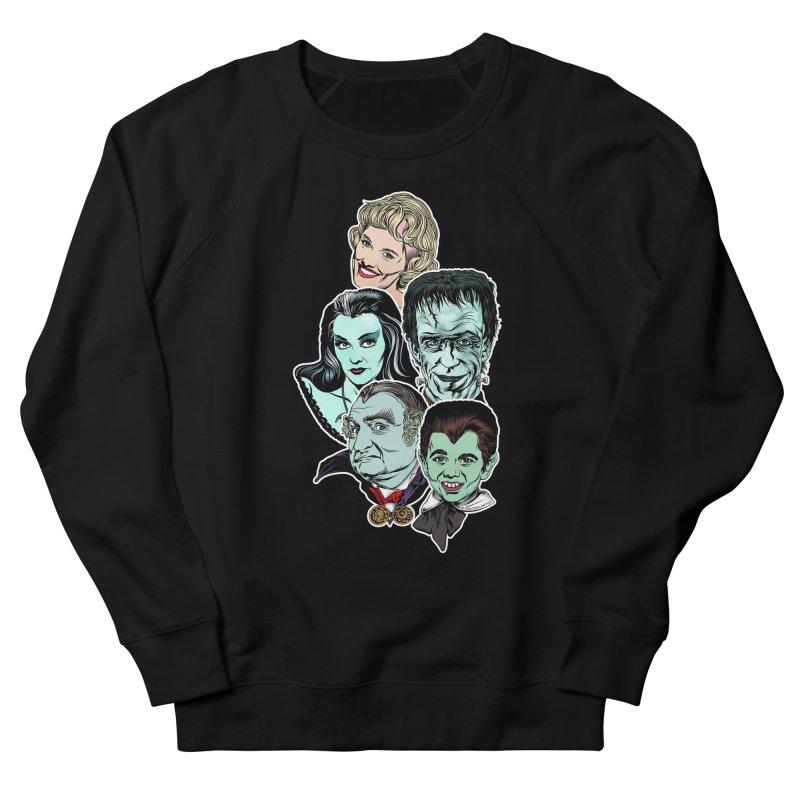 The Munsters RULE! Men's French Terry Sweatshirt by pentoolarts's Artist Shop