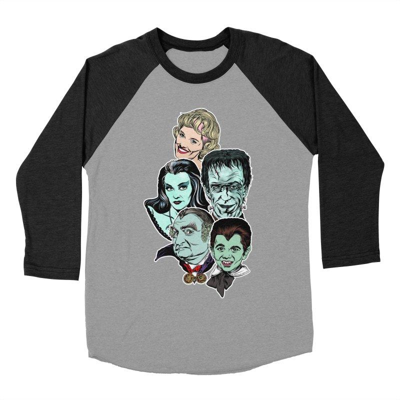 The Munsters RULE! Women's Baseball Triblend Longsleeve T-Shirt by pentoolarts's Artist Shop