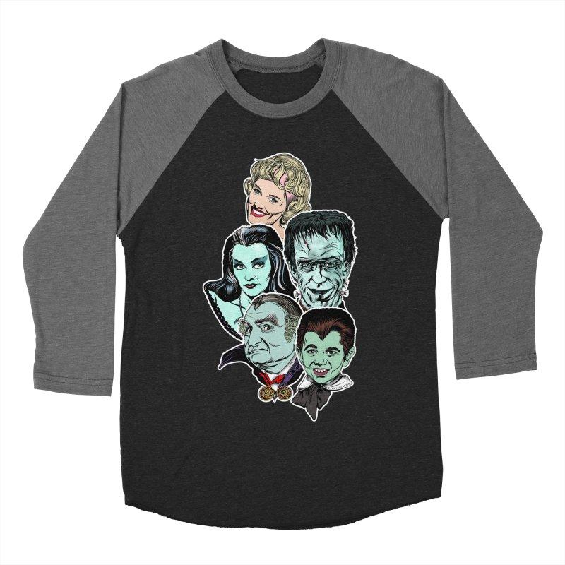 The Munsters RULE! Men's Baseball Triblend Longsleeve T-Shirt by pentoolarts's Artist Shop