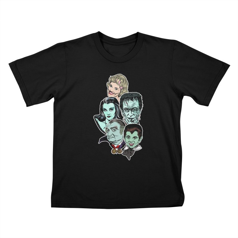 The Munsters RULE! Kids T-Shirt by pentoolarts's Artist Shop