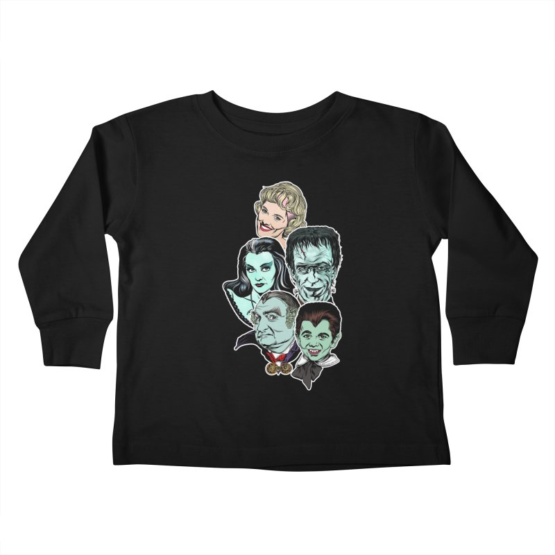 The Munsters RULE! Kids Toddler Longsleeve T-Shirt by pentoolarts's Artist Shop