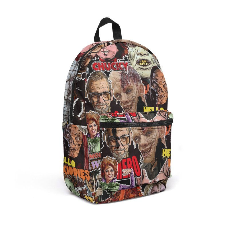 A Wonderful World of Horror Accessories Backpack Bag by pentoolarts's Artist Shop