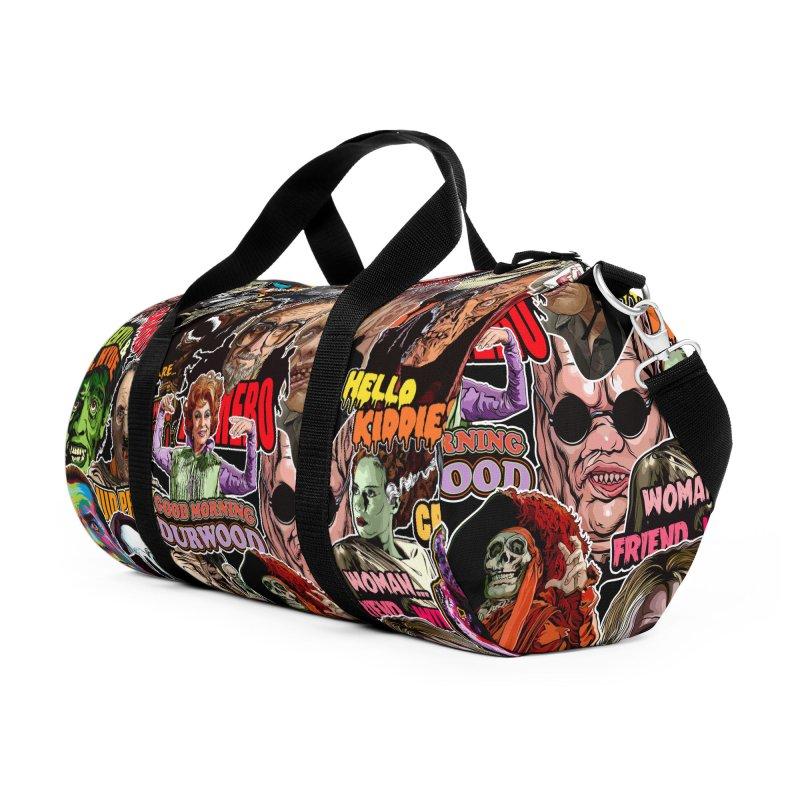 A Wonderful World of Horror Accessories Bag by pentoolarts's Artist Shop