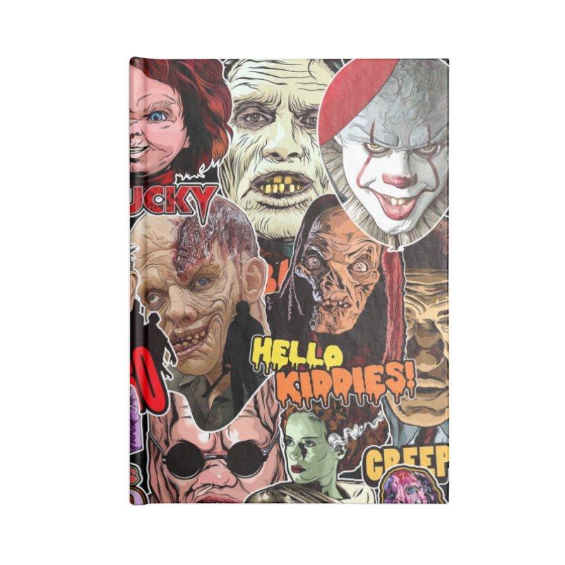 A Wonderful World of Horror Accessories Notebook by pentoolarts's Artist Shop