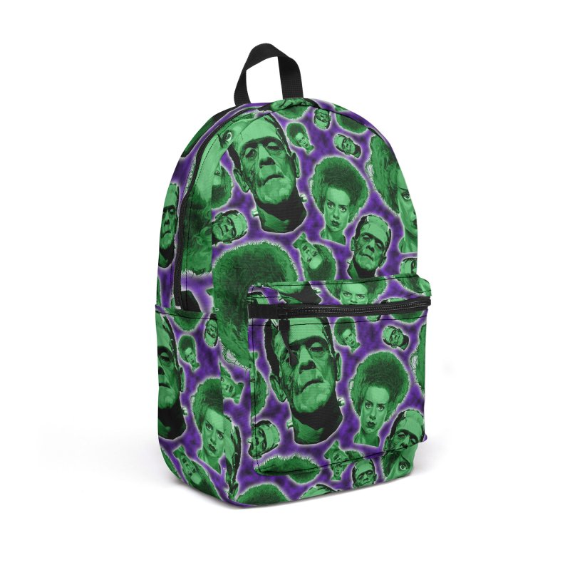The Happy (and very green) Couple Accessories Backpack Bag by pentoolarts's Artist Shop
