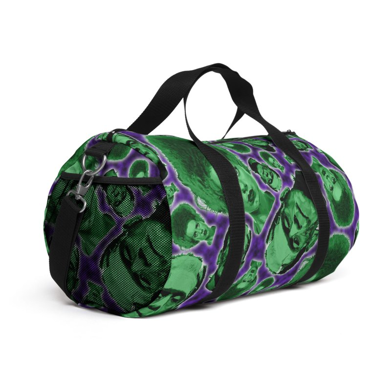 The Happy (and very green) Couple Accessories Bag by pentoolarts's Artist Shop