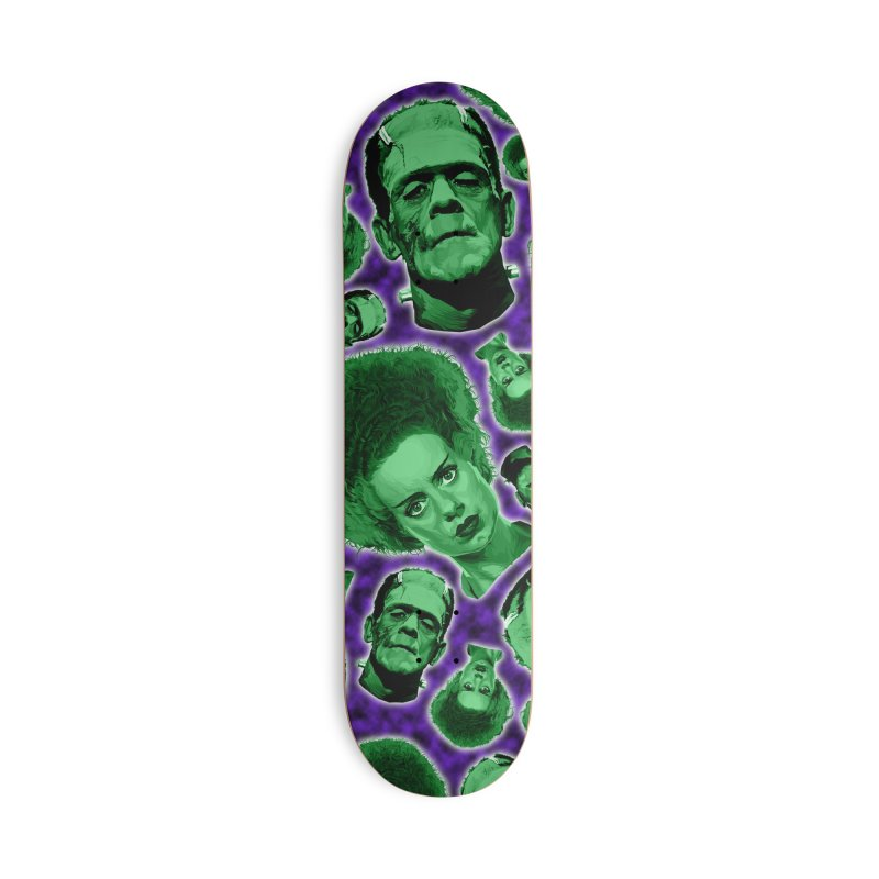The Happy (and very green) Couple Accessories Deck Only Skateboard by pentoolarts's Artist Shop