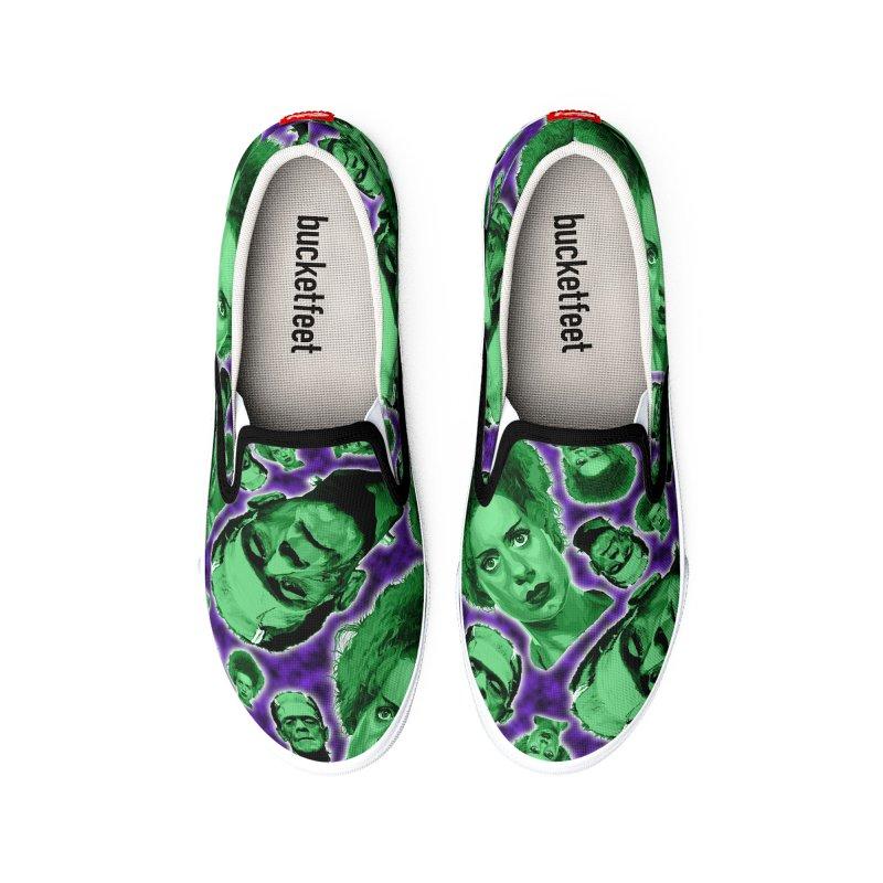 The Happy (and very green) Couple Women's Shoes by pentoolarts's Artist Shop