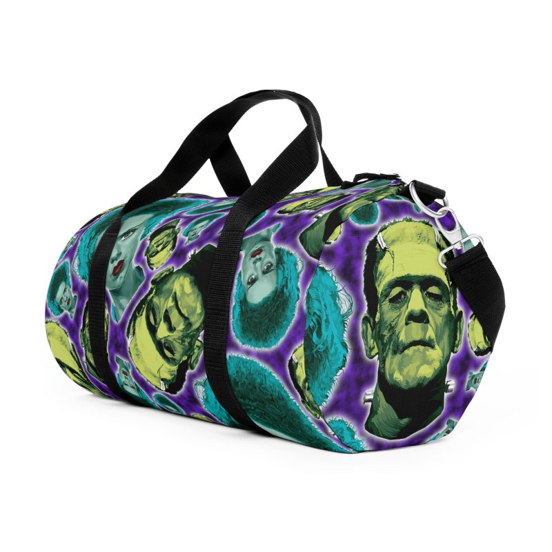 The Bride and Her Man... Accessories Duffel Bag Bag by pentoolarts's Artist Shop