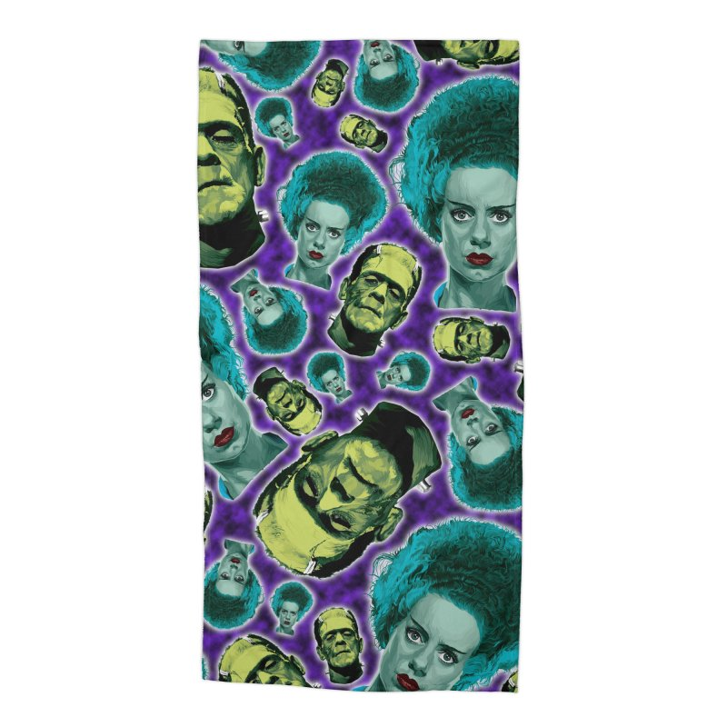 The Bride and Her Man... Accessories Beach Towel by pentoolarts's Artist Shop