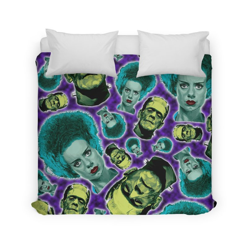 The Bride and Her Man... Home Duvet by pentoolarts's Artist Shop