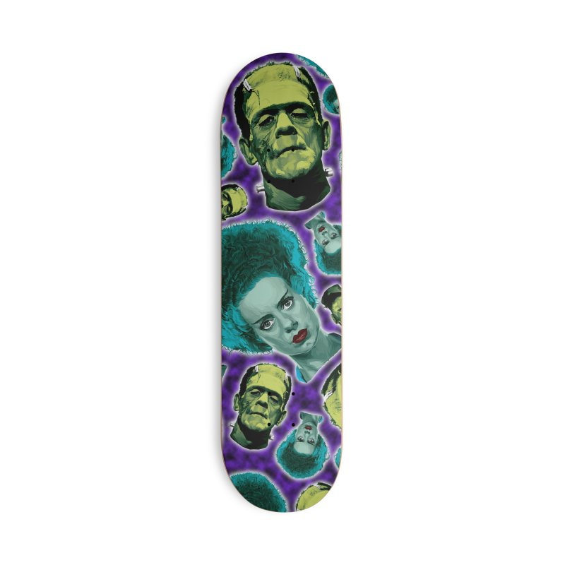The Bride and Her Man... Accessories Deck Only Skateboard by pentoolarts's Artist Shop