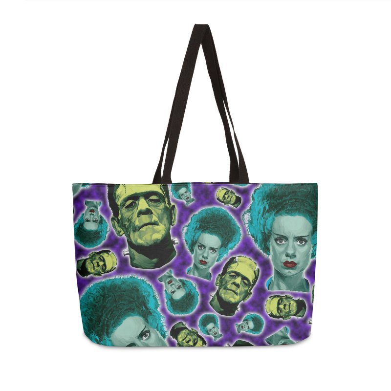 The Bride and Her Man... Accessories Weekender Bag Bag by pentoolarts's Artist Shop