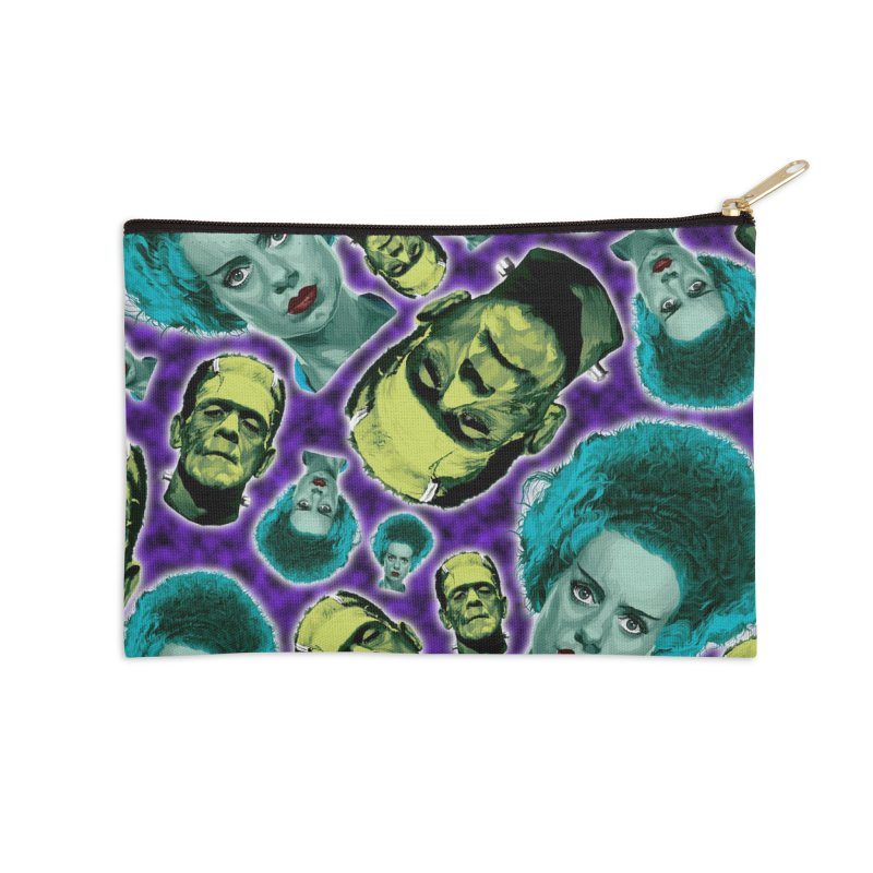 The Bride and Her Man... Accessories Zip Pouch by pentoolarts's Artist Shop