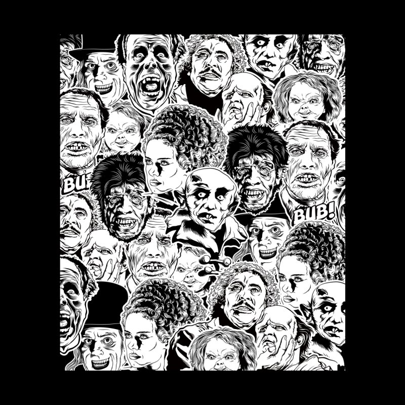 A Graphic Collage of Horror Greats! by pentoolarts's Artist Shop