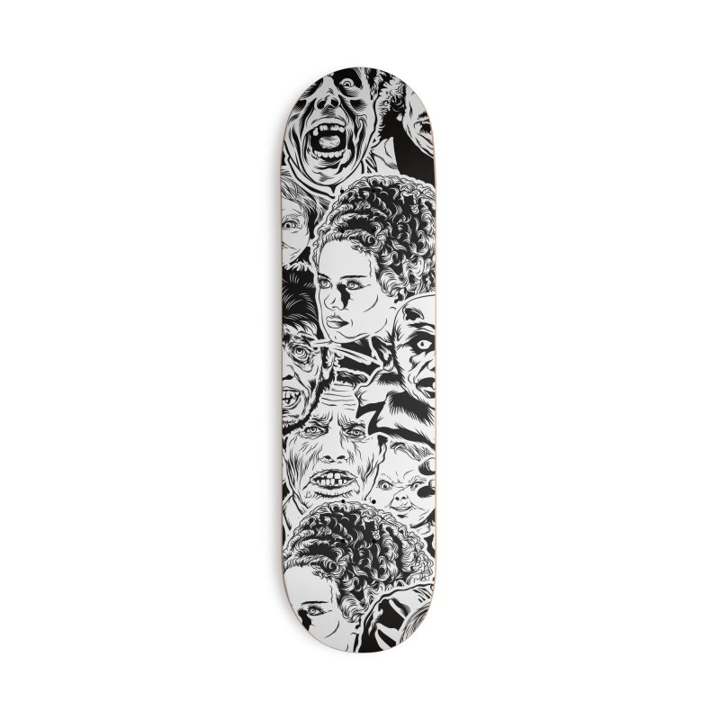 A Graphic Collage of Horror Greats! Accessories Deck Only Skateboard by pentoolarts's Artist Shop
