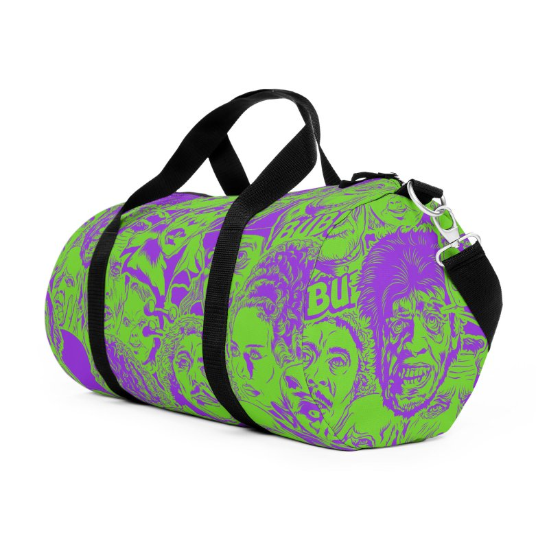 The Gang's All Here! Accessories Duffel Bag Bag by pentoolarts's Artist Shop